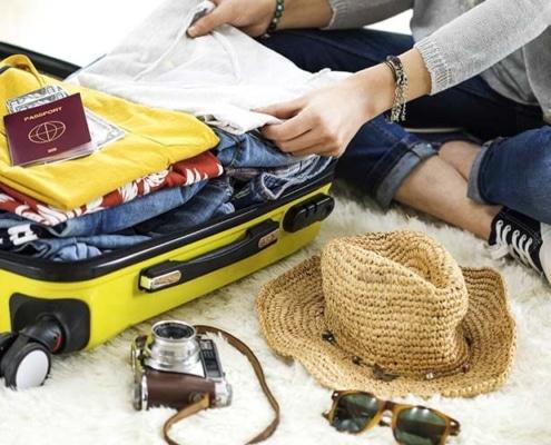 Bien préparer sa valise